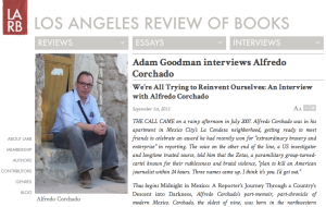 LARB Corchado interview