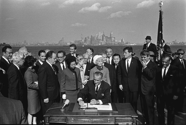 1965ImmigrationActSigning